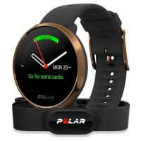 Часы Polar Ignite Black/Copper (M/L) с датчиком H10